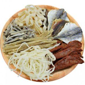 Снэки из рыбы и морепродуктов 1 кг